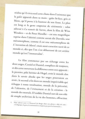 L'invention de Morel d'A. Bioy Casares - La tentation du spéculaire de Jean-Pierre Zarader-p35